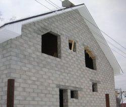 Качественный и недорогой дом из пеноблоков, кирпича, бруса в городе Ижевск, можно заказать в нашей компании профессиональных строителей СтройСервисНК